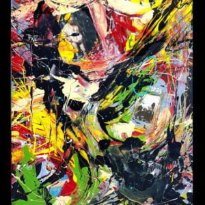 I see you #7 – Abstract acrylic painting