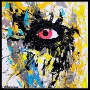 I see you – Abstract acrylic painting