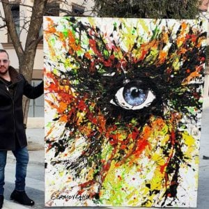 I See You 2020 Abstract Painting