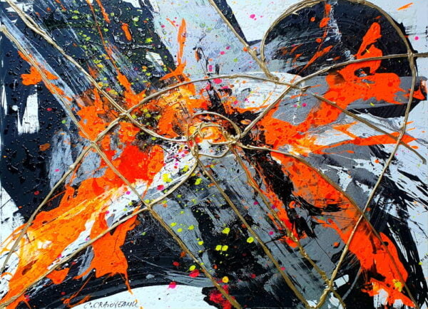 Dopamine Abstract Painting