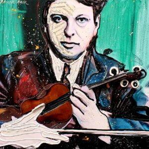 Sir George Enescu artwork